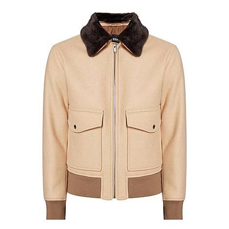 Cerling Shearling Jacket, ${color}