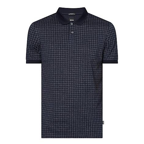 Parlay Houndstooth Polo Shirt, ${color}