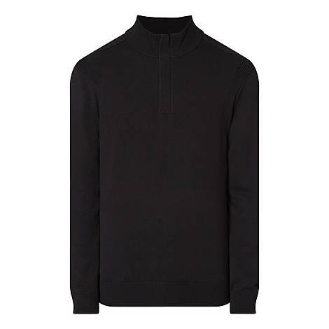 Pacilli Half-Zip Sweatshirt, ${color}