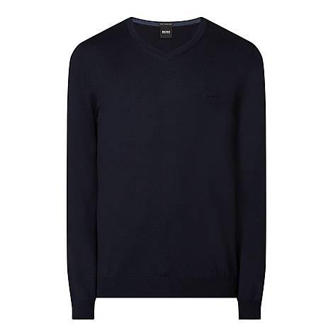 Baron V-Neck Sweater, ${color}