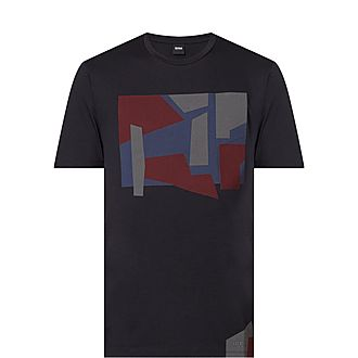 Tibert Abstract Print T-Shirt