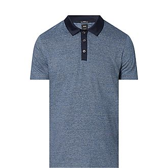 Plater Fine Stripe Polo Shirt