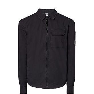 Zip Cotton Shirt