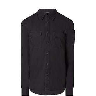 Button Lens Slim Fit Shirt