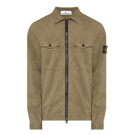 Cotton Zip Overshirt, ${color}