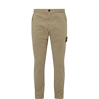 Casual Logo Patch Trousers