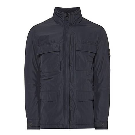 Zip-Through Jacket, ${color}