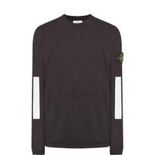 Reflex Sleeve Crew Neck Sweatshirt