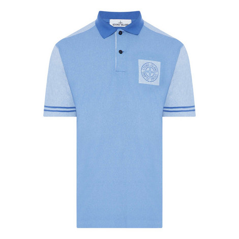 Logo Badge Polo Shirt, ${color}