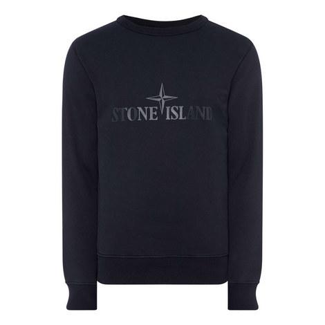 Reverse Logo Sweatshirt, ${color}