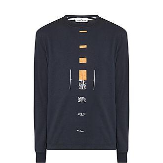 Broken Up Logo Sweatshirt