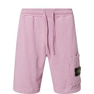 Logo Patch Drawstring Shorts