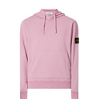 Logo Patch Jersey Hoodie