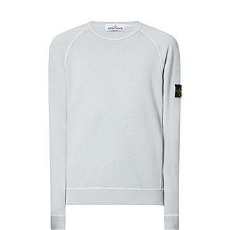 Logo Patch Crew Neck Sweatshirt