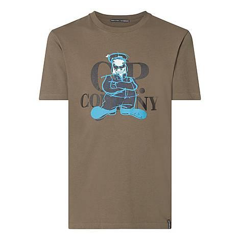 Cartoon Logo T-Shirt, ${color}