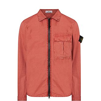 Zipped Regular Shirt