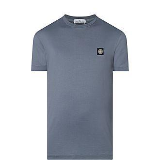 Crew Neck Badge T-Shirt