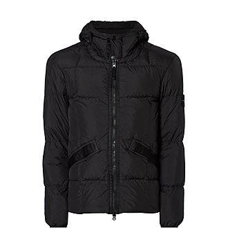 Crinkle Hooded Jacket