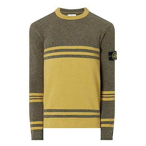 Tonal Stripe Sweater, ${color}