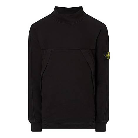 Mock Neck Sweatshirt, ${color}