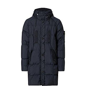 Crinkle Parka Jacket