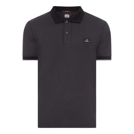 Contrasting Polo Shirt, ${color}