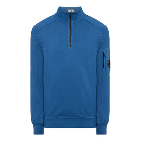 Half-Zip Crew Sweatshirt, ${color}