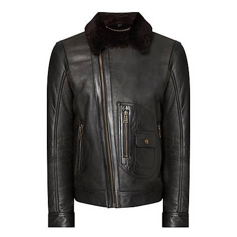 Danecroft Shearling Jacket, ${color}
