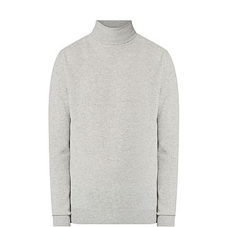 Engineered Cashmere Roll Neck Sweater