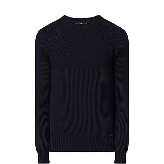Ribbed Pima Cotton Sweater