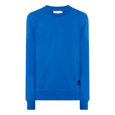 Logo Cotton Sweatshirt, ${color}