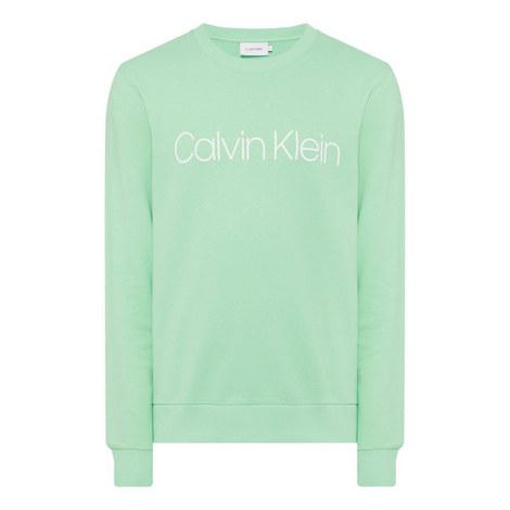 Cotton Logo Sweatshirt, ${color}