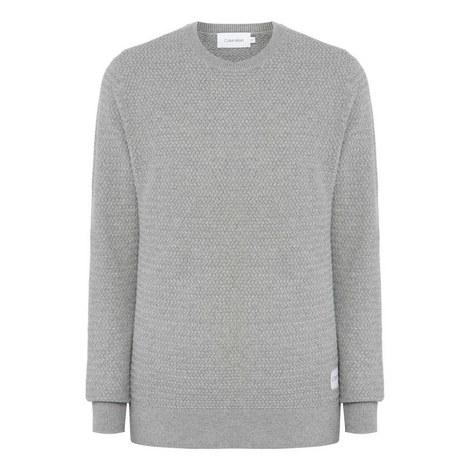 Cotton Crew Neck Sweater, ${color}