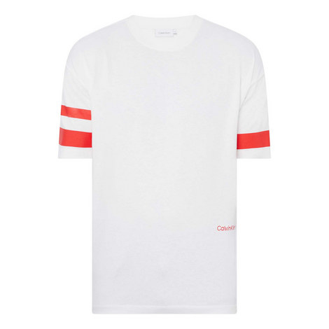 Stripe Sleeve T-Shirt, ${color}