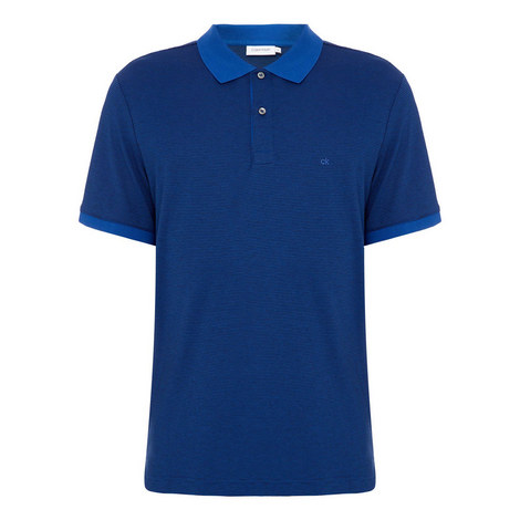 Liquid Touch Striped Polo Shirt, ${color}