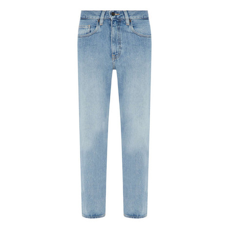 Relaxed Straight Fit Jeans, ${color}