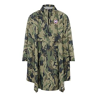 Camouflage Field Poncho