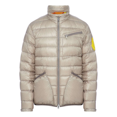 Quilted Liam Badge Jacket, ${color}