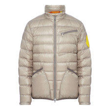 Quilted Liam Badge Jacket