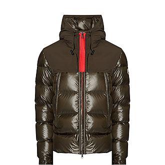 Contrast Zipper Jacket