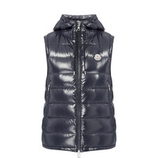 New In MONCLER Lanoux Gilet €755.00