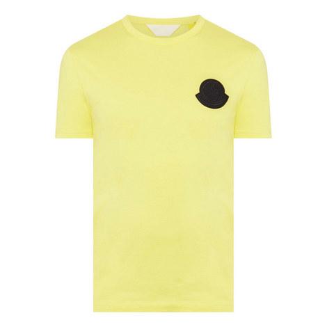 Badge Crew Neck T-Shirt, ${color}