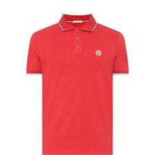 Stripe Tipped Polo Shirt