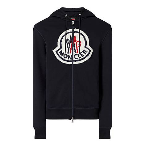 Embroidered Logo Zip Hoodie, ${color}