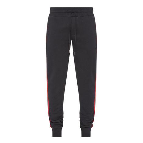 Stripe Panel Sweatpants, ${color}