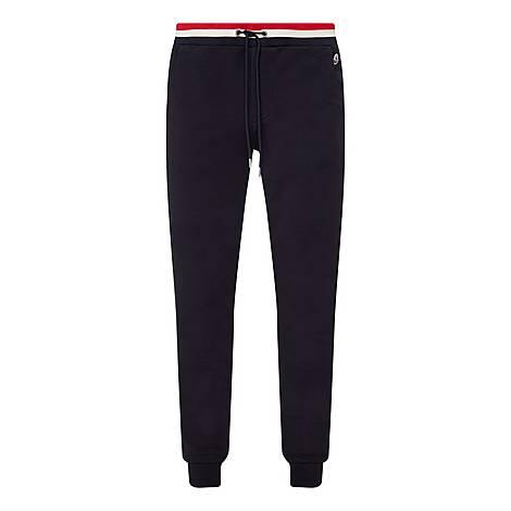 Striped Waistband Sweatpants, ${color}