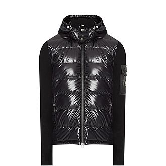 Hooded Hybrid Jacket