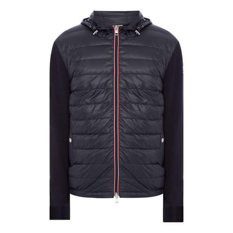 Quilted Front Hood Jacket, ${color}