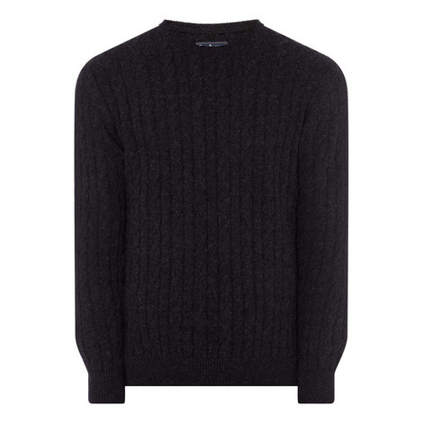 Sanda Cable Knit Sweater, ${color}