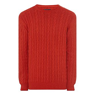 Sanda Cable Knit Jumper